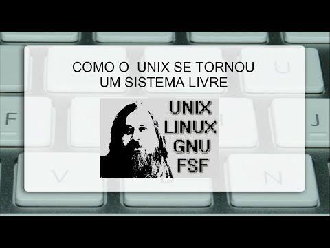 UNIX - Como se tornou um sistema livre? #UNIX #SoftwareLivre