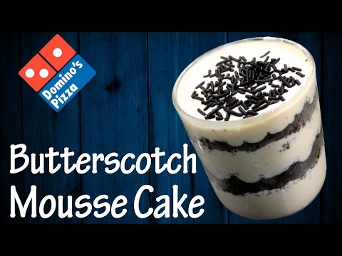 Make Butterscotch Mousse Cake like Domino's at home !!!