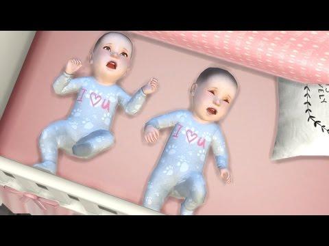 TWIN BIRTH DELIVERY! l SIMS 4