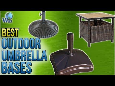 8 Best Outdoor Umbrella Bases 2018