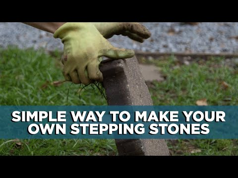 Create Your Own Decorative Stepping Stones