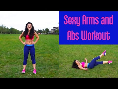 Speedy Sexy Arms and Abs Workout For Women