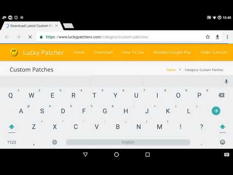 How to add a custom patch in Lucky Patcher from the site (lpzip)