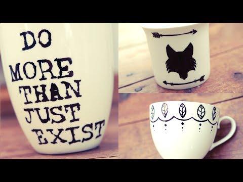 D.I.Y Sharpie Mugs