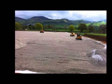 Construction 2G Artificial Turf Sports Pitch