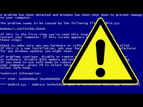Alles was du über den Blue Screen (of Death) wissen musst