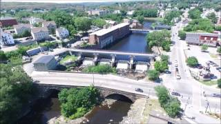 Woonsocket RI:  A Drone's Eye View