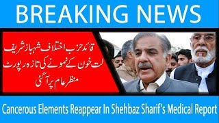 Cancerous Elements Reappear In Shehbaz Sharif