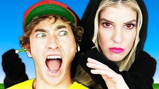 RZ Twin Hypnotized Maddie's Ex Crush! Spending 24 hours in 50's Diner | Rebecca Zamolo