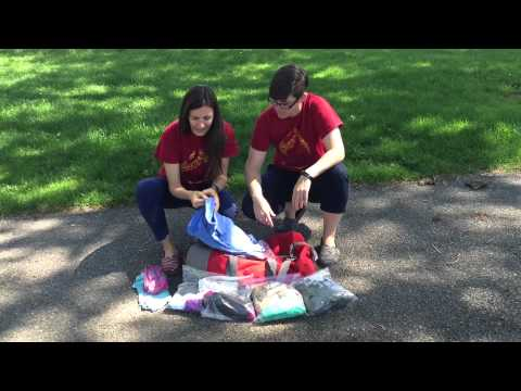 Camper Pro Tip: Easy, Fun Way to Pack Summer Camp Clothes