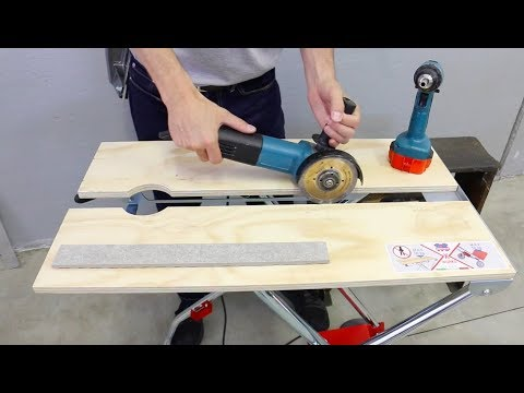 New Versatile Working Table for Tilers - X-Works by Montolit Tiling Tools