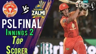 Luke Ronchi Batting | Peshawar Zalmi Vs Islamabad United  | Final | 25 March | HBL PSL 2018