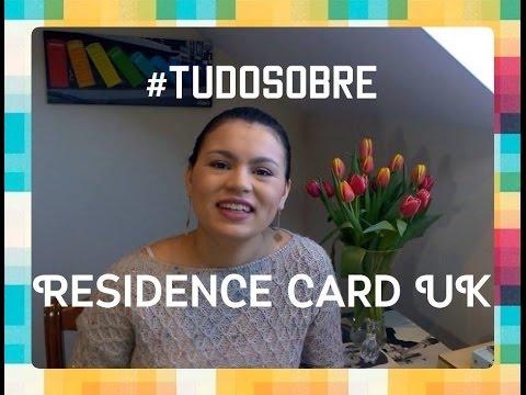 #TUDOSOBRE   RESIDENCE CARD UK!!! ✦ Da Favela para o Mundo✦