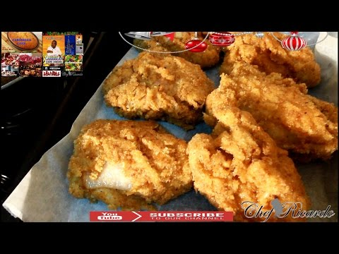 Christmas Bread Crumbs Fried Chicken Recipe | Recipes By Chef Ricardo