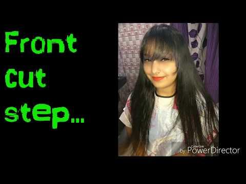 Front || Hair cut step (Hindi)