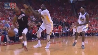 Draymond Green Shoves Trevor Ariza After Getting Angry About Warriors Losing To Rockets in Game 2!