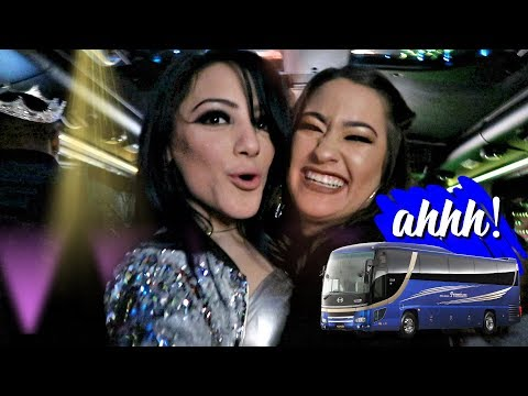 Riding on a Party Bus! VLOGMAS DAY 16! Niki DeMar