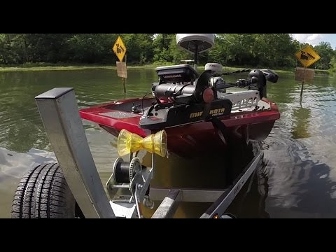 How to Launch a Boat by Yourself