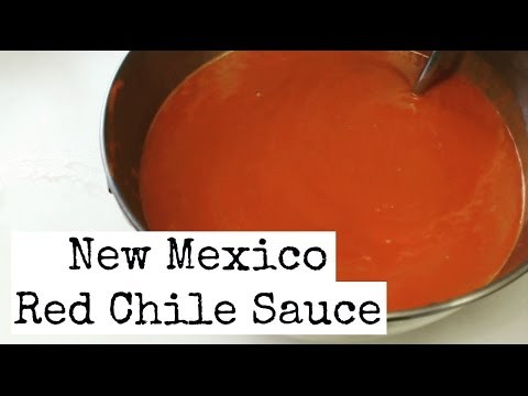 Authentic New Mexico Red Chile Sauce Recipe | VeganMadeYeezy