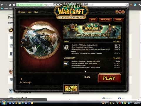 How to get the World of Warcraft Public test realm (its free)