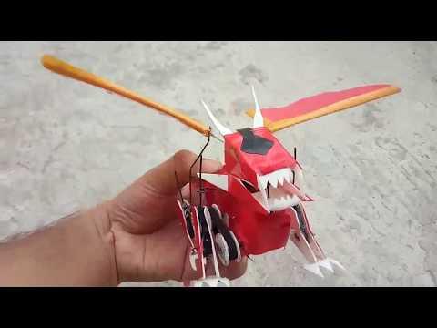how to make a robot ( dragon)