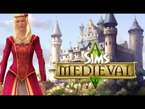 Let's Play The Sims Medieval! Part 1 (Creating Our Queen)