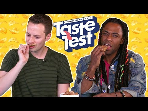 Taste Test: Chip Flavors from Around the World | Food Network