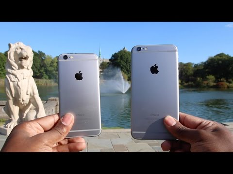 iPhone 6 vs 6 Plus - Day in the Life