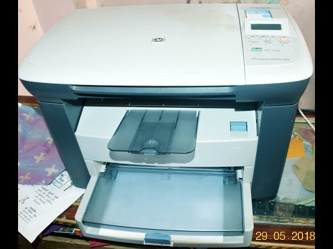 How To Reset Or Defult  Setting Hp laserjet M1005 MFP
