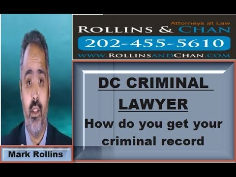 DC CRIMINAL LAWYERS - Criminal records in DC