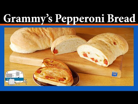 How to make Pepperoni Bread