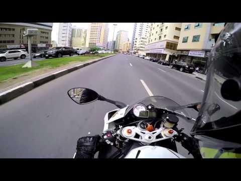 Dubai Bike - Riding for fun, stupid people on road