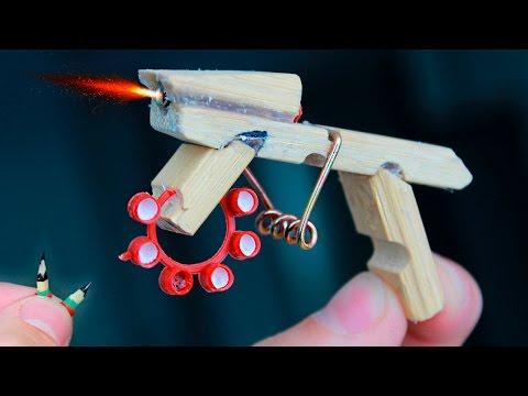 How to Make a MINI AK-47 THAT SHOOTS / Tutorials