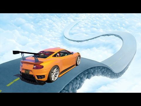 UNBELIEVABLE SKY RACE! (GTA 5 Funny Moments)