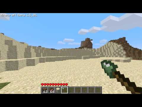 Minecraft Spear Mod: Slime Spear Demonstration