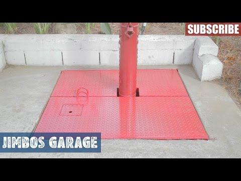 Concrete Vault Metal Doors - 1 of 2 - JIMBOS GARAGE