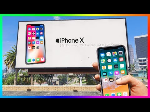 iPhone 10 In GTA 5! (iPhone X Easter Egg)