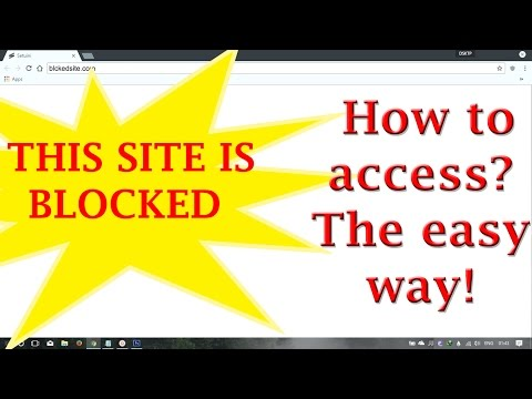 Unblock or open all the blocked websites in just ONE CLICK!! EASY WAY ! [Windows] [LINUX] [MAC]