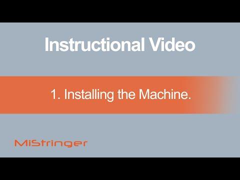 1. Installing the Machine