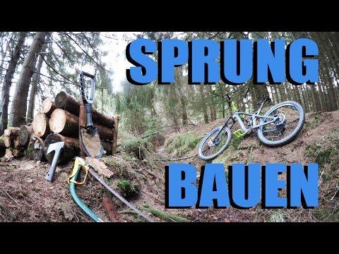 How-To: Sprung bauen - Trail Building Part 1 - MTB Mountainbike Freeride Enduro Downhill Trail Bau