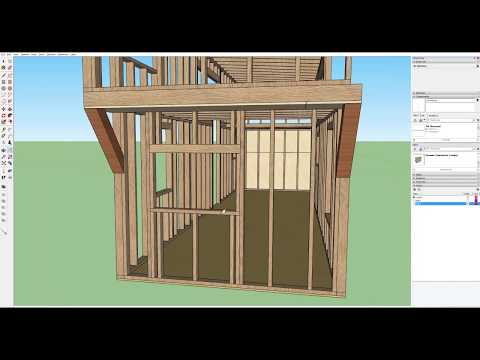 Part 5   Designing a Tiny House in Sketchup