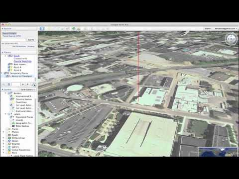 Placemark Path Tour in Google Earth