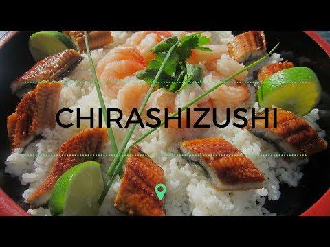 Chirashizushi. Saiba mais sobre essa culinária japonesa.