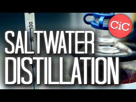 Saltwater Distillation | Purify Liquid Reagents