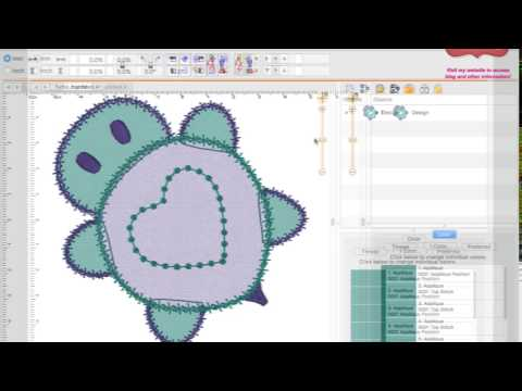 Applique Embroidery Designs with StitchArtist