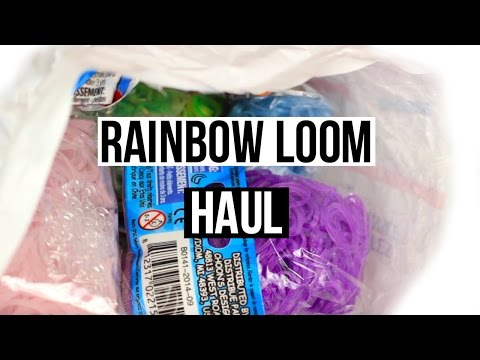 Rainbow Loom Haul | Glitter, Limited Edition bands, and more!