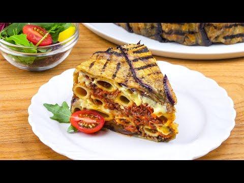 Réconfortant et gourmand : le gâteau d'aubergine et rigatoni