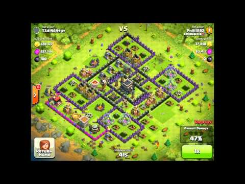 Loonatix Video #3 - Balloonion Strategy (Miniballs) Balloons and Minions Clash of Clans