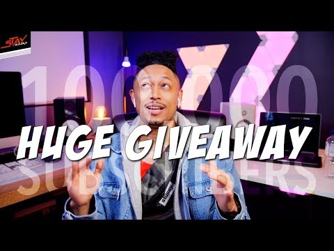 100,000 Subscriber Run Giveaways!! 35 Potential Winners!