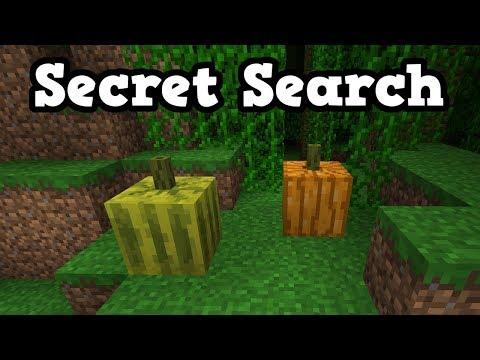 Minecraft 1.13 Snapshot 18W14B - Pickles Secret Search